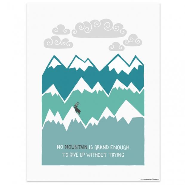 Plagát Himalaya 30x40