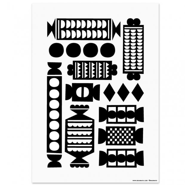 Plakát Salmiakki 21x30