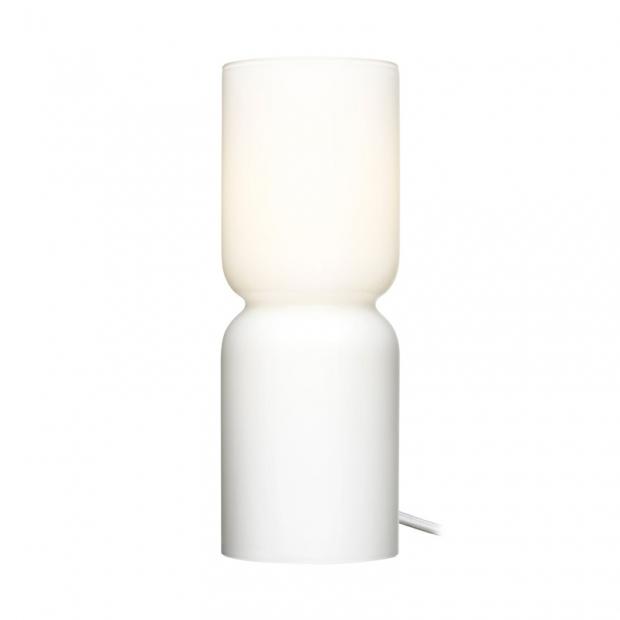 Stolní lampa Lantern, 25cm, bílá