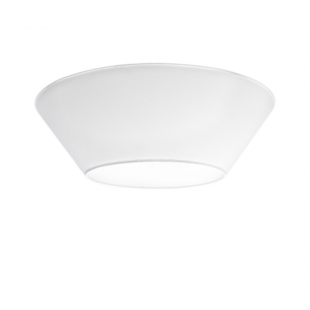 Stropná lampa Halo 70cm, biela