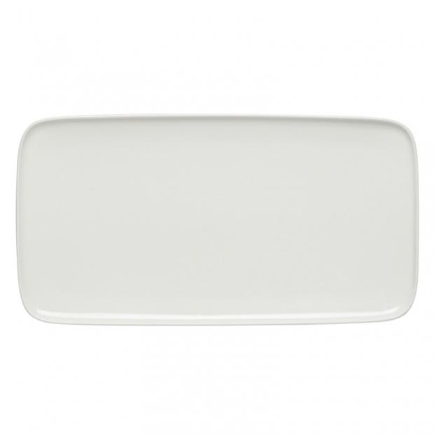 Servírovací talíř Oiva 16x30cm, bílý