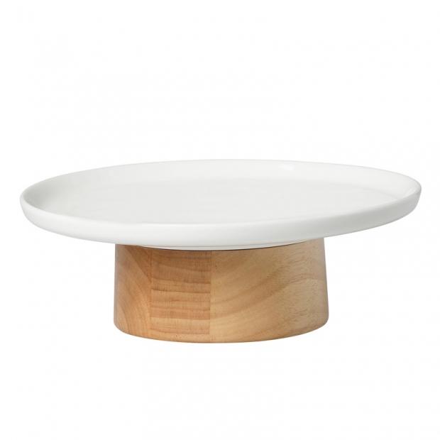 Servírovací tanier Oiva Kanta 22cm, biely