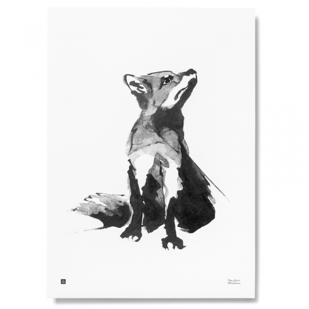 Plagát Red Fox 50x70