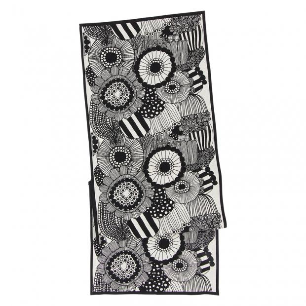 Behúň Siirtolapuutarha 47x150, čiernobiely