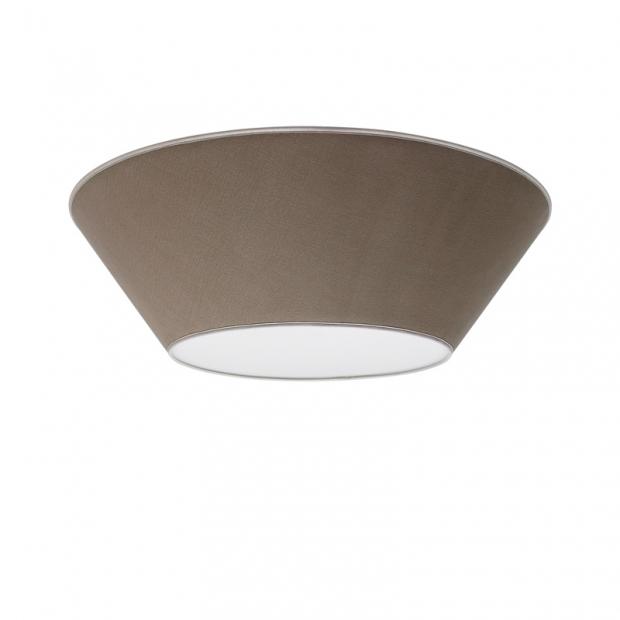Stropní lampa Halo 70cm, písková