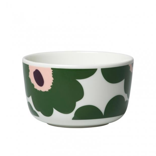 Miska Oiva Unikko 0,25l, tmavě zelená