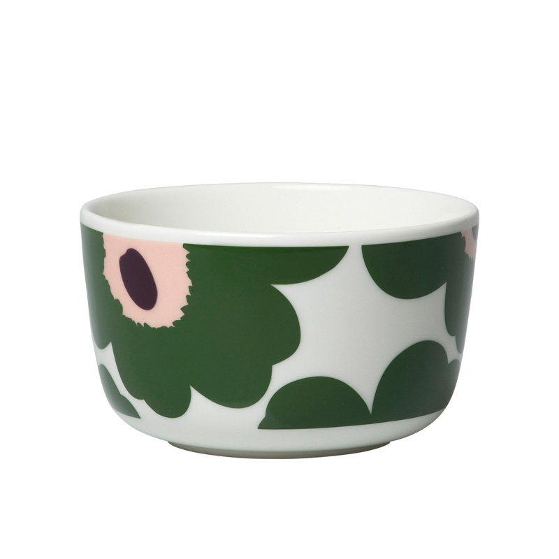 Miska Oiva Unikko 0,25l, tmavo zelená