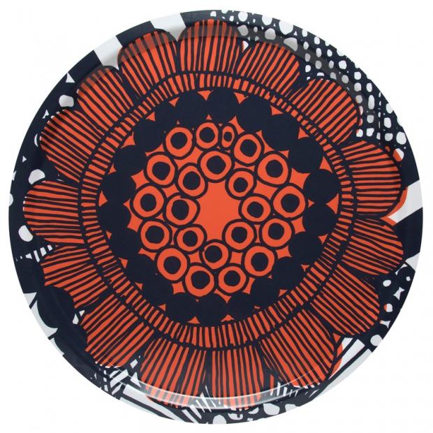 Podnos Siirtolapuutarha 46cm, oranžový