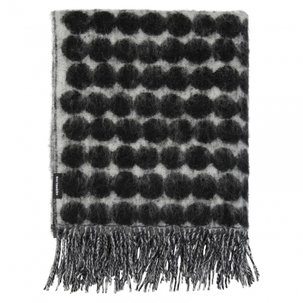 Deka Räsymatto 70x180, černo-bílá
