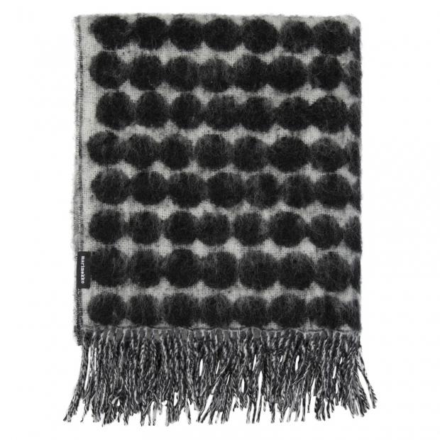 Deka Räsymatto 70x180, čierno-biela