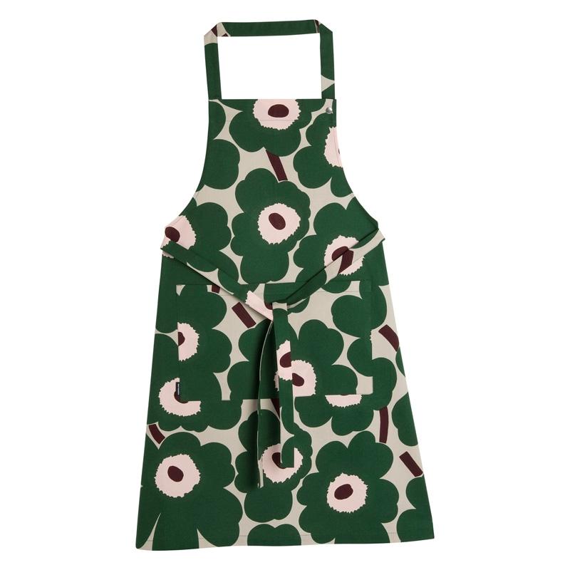 Kuchyňská zástěra Pieni Unikko, zelená