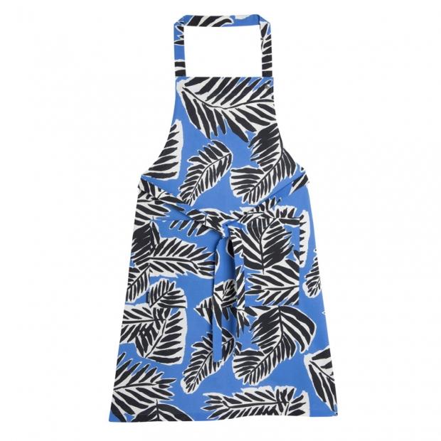 Kuchyňská zástěra Babassu, modrá