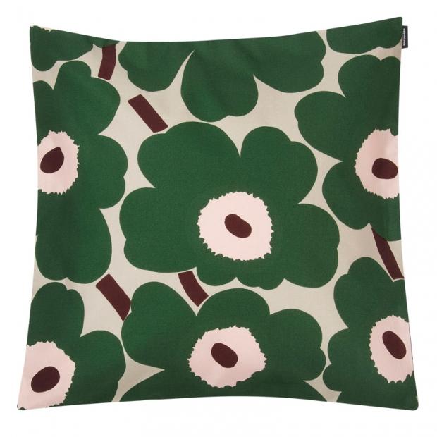 Povlak na polštář Pieni Unikko 45x45, zelený