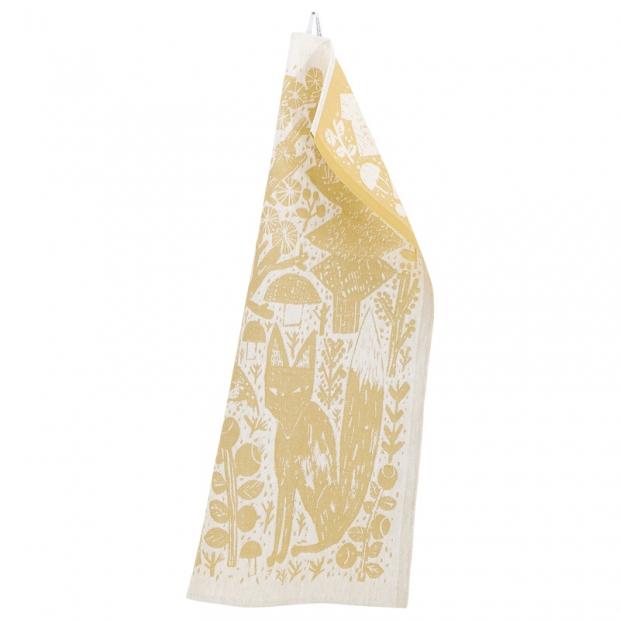 Utierka Koirapuisto 46x70, bielo-zlatá