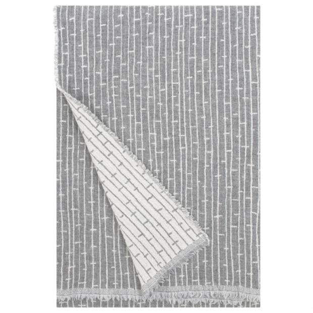 Merino deka Metsä 140x180, svetlo sivá