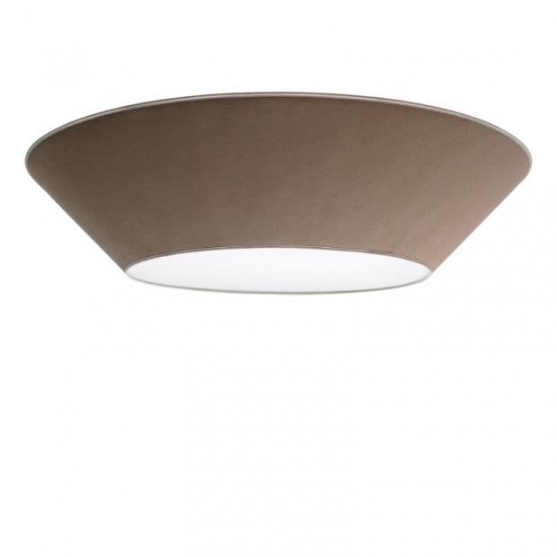 Stropná lampa Halo 100cm, piesková
