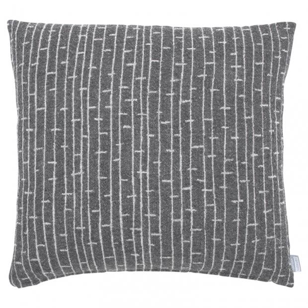 Merino povlak na polštář Metsä 45x45, tmavě šedý