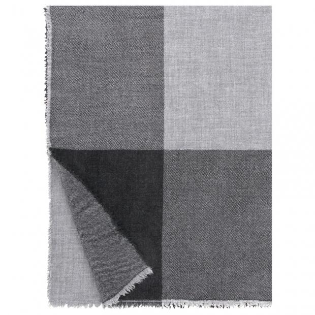 Vlnená deka Jussi 140x180, sivá