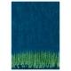 Mohérová deka Revontuli 130x170, zeleno-borůvková