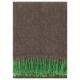 Mohérová deka Revontuli 130x170, zeleno-hnedá