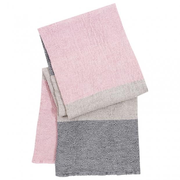 Uterák Terva, ľan-sivo-ružový