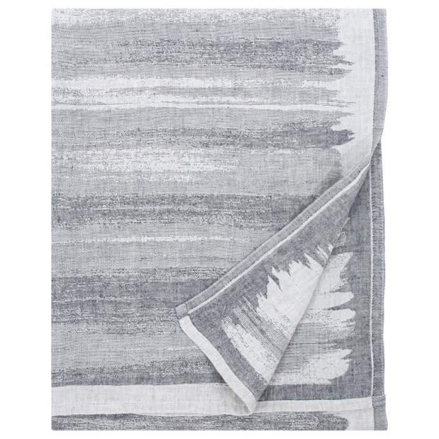 Ručník Joki, bílo-šedý