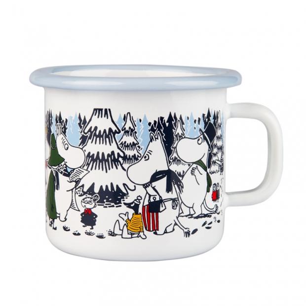 Hrnek Moomin Winter forest 0,25l