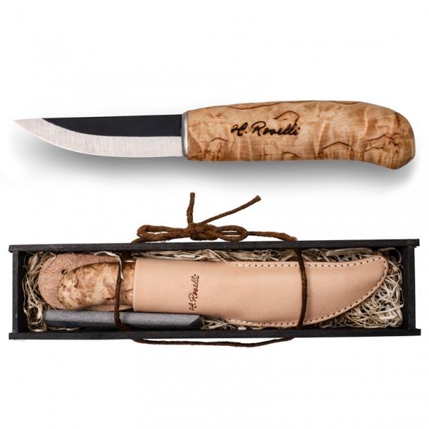 Finský nůž Roselli 19,5cm / dárkový set