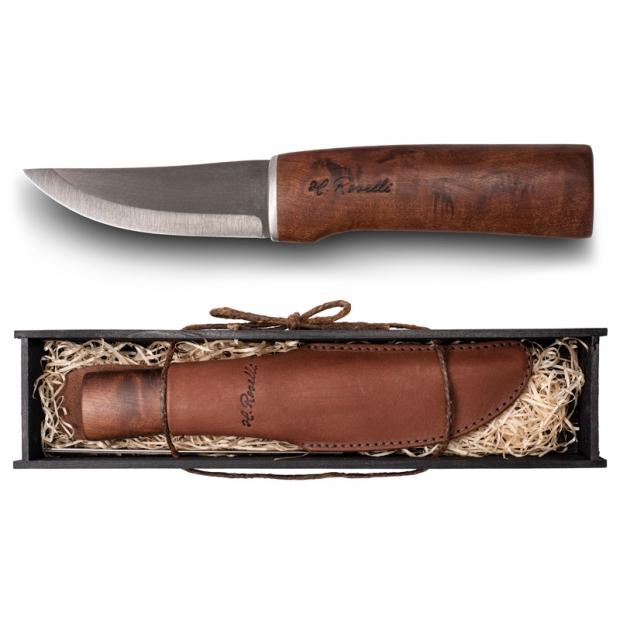 Fínsky lovecký nôž, Roselli Wootz / darčekový box