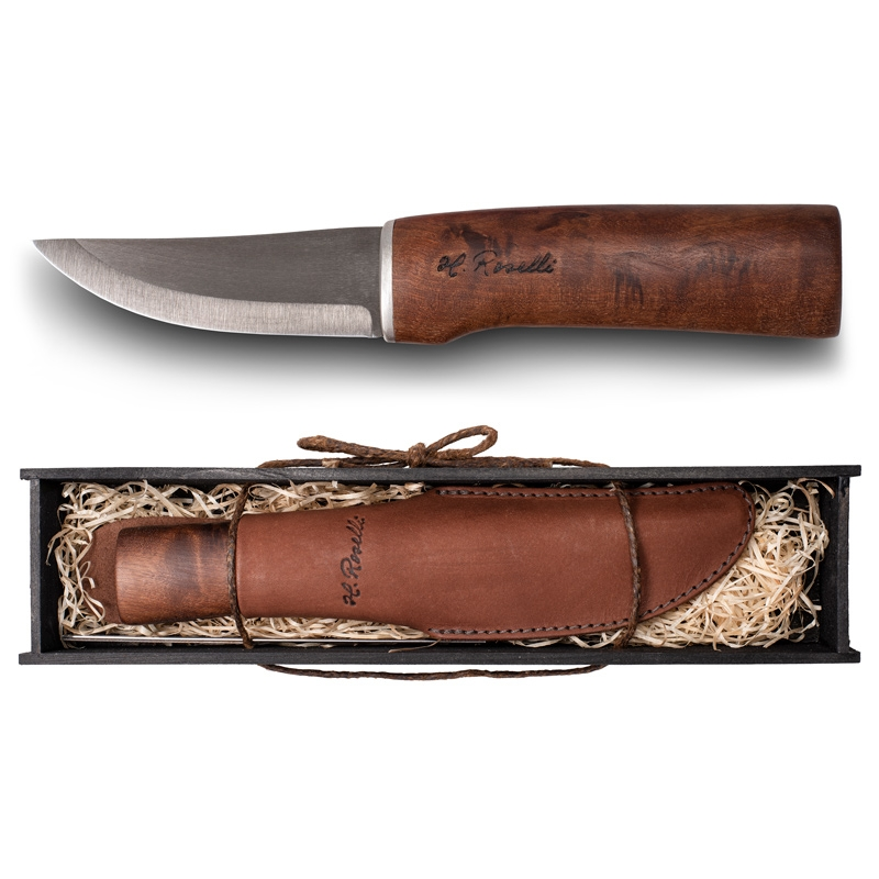 Finský lovecký nůž, Roselli Wootz / dárkový set