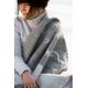 Vlněná deka Valkko 130x180, šedá