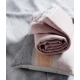 Vlněná deka Sara 140x180, růžová
