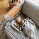 Vlněná deka Kili 90x130, šedá