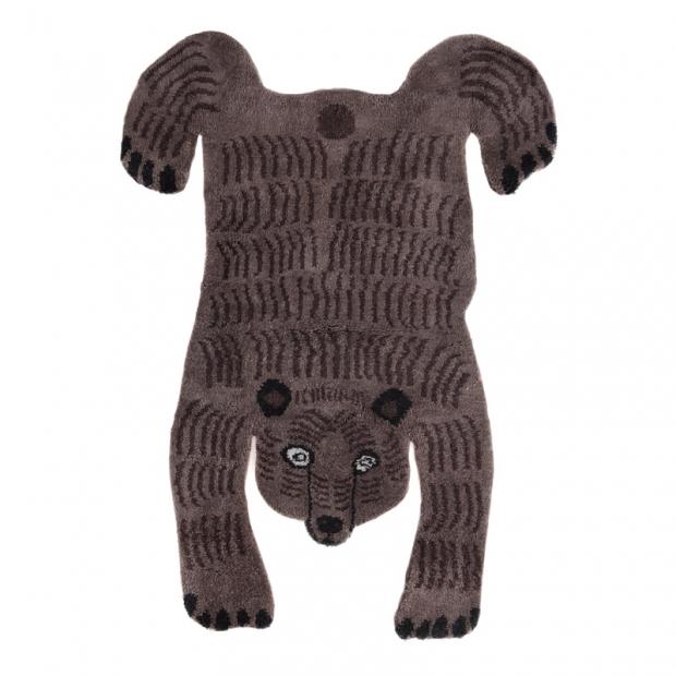 Koberec Bear, tmavý / luxusná vlna