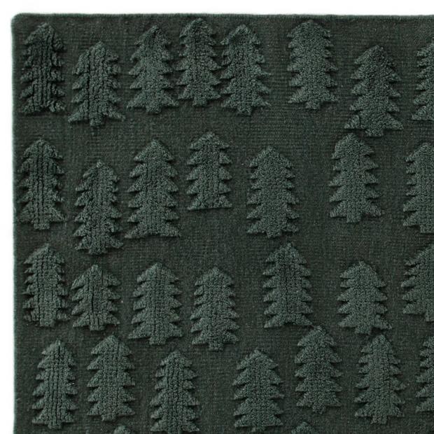 Koberec Forest, tmavo zelený