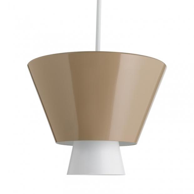 Závesná lampa Loiste, piesková