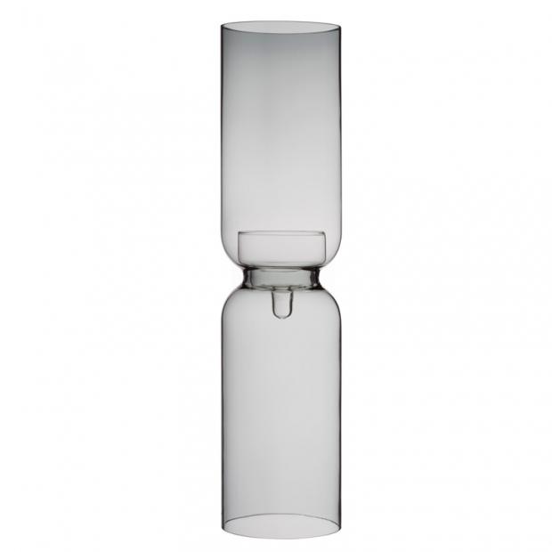 Svícen Lantern 60cm, tmavě šedý