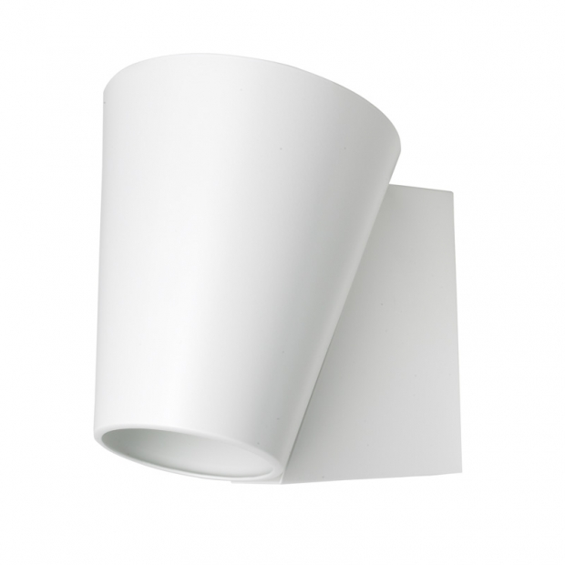 Nástenná lampa Liekki, biela