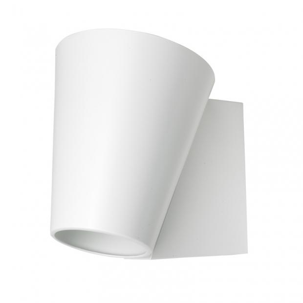 Nástěnná lampa Liekki, bílá