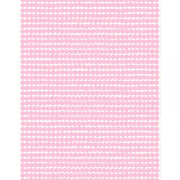Látka Räsymatto 10m, bavlna / ružová