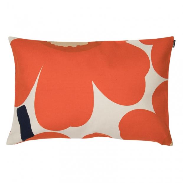 Povlak na polštář Unikko 40x60, oranžový
