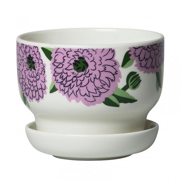 Květináč Oiva Primavera 13,5cm, fialový
