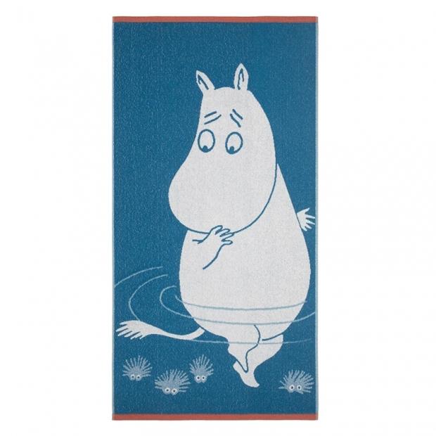 Osuška Moomin 70x140cm, tyrkysová
