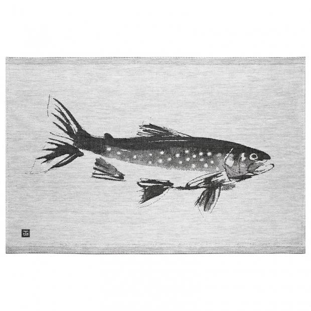 Utierka Rautu 46x70, sivo-čierna