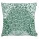 Povlak na polštář Ruut 50x50, zeleno-bílý