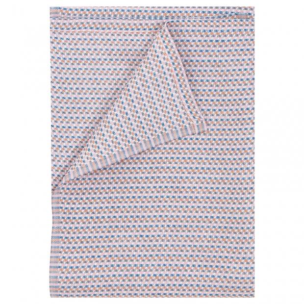 Ručník Polku, růžovo-modrý
