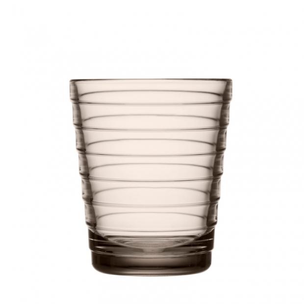 Poháre Aino Aalto 0,22l, 2ks, ľanové