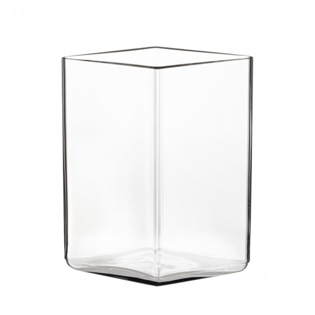 Váza Ruutu 11,5x14, čirá