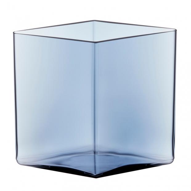 Váza Ruutu 20,5x18, modrá rain