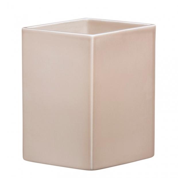 Váza Ruutu 225mm, keramická / béžová